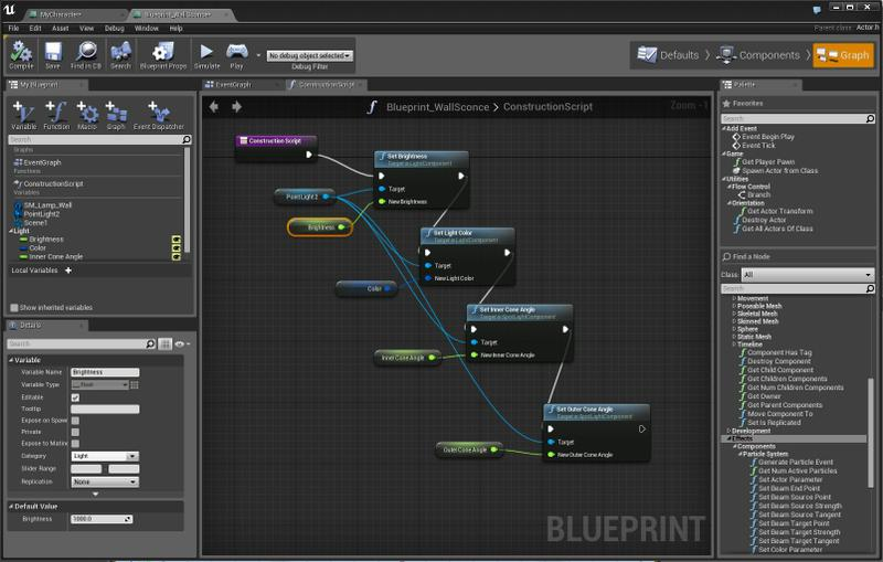 how to make a blueprint game unreal engine