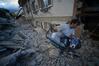 [포토]이탈리아 지진, `지진 피해에 허탈`