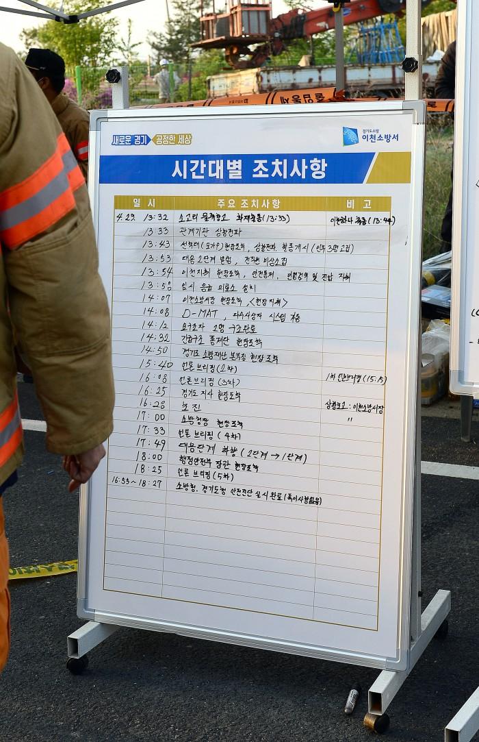이천 물류창고화재 시간대별 대응상황 뉴스줌